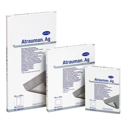 Атрауман АГ мазевая повязка с серебром